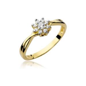 Diamonds Pierścionki z diamentami W72B022Z