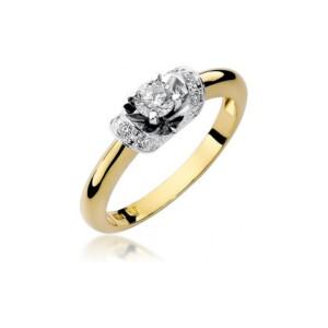 Diamonds Pierścionki z diamentami W43B033Z