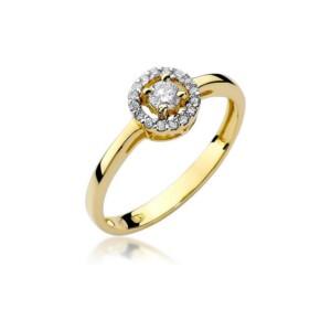 Diamonds Pierścionki z diamentami W238B020Z