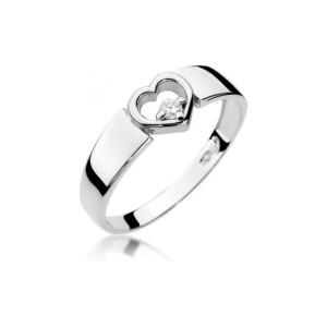 Diamonds Pierścionki z diamentami W276B004B