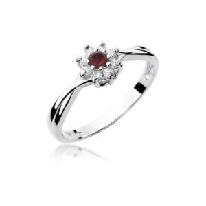 Diamonds Pierścionki z diamentami W72R015B