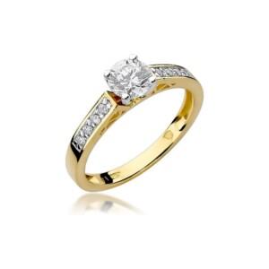 Diamonds Pierścionki z diamentami W198B042Z