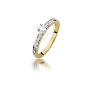 Diamonds Pierścionki z diamentami W288B028Z