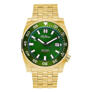 Balticus DEEP WATER GOLD GREEN BTDWGG - zegarek męski