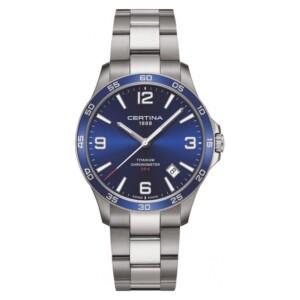 Certina DS-8 COSC Chronometer Titanium C033.851.44.047.00 - zegarek męski