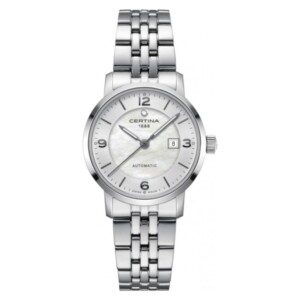 Certina DS Caimano Lady Small Automatic C035.007.11.117.00 - zegarek damski