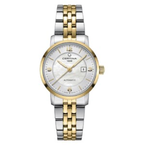 Certina DS Caimano Lady Small Automatic C035.007.22.117.02 - zegarek damski
