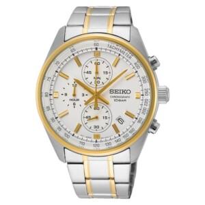Seiko Chronograph SSB380P1 - zegarek męski