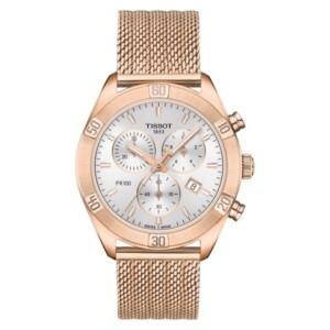 Tissot PR 100 SPORT CHIC CHRONOGRAPH T101.917.33.031.00 - zegarek damski