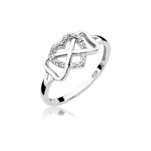 Diamonds Pierścionki z diamentami W287B006B