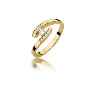 Diamonds Pierścionki z diamentami W372B019Z