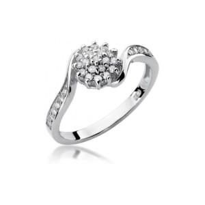 Diamonds Pierścionki z diamentami W11B026B