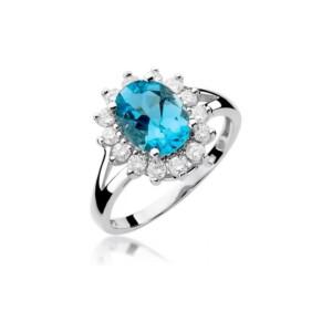 Diamonds Pierścionki z diamentami W48T170B