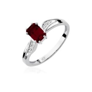 Diamonds Pierścionki z diamentami W94G070B