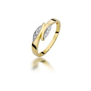 Diamonds Pierścionki z diamentami W107B003Z
