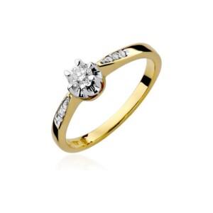 Diamonds Pierścionki z diamentami W291B025Z