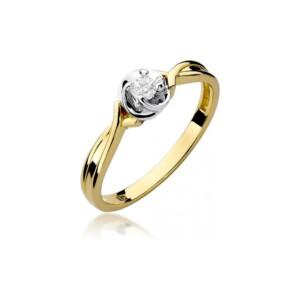 Diamonds Pierścionki z diamentami W329B010Z