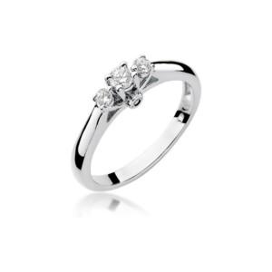 Diamonds Pierścionki z diamentami W69B022B