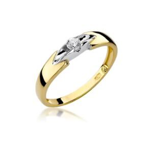 Diamonds Pierścionki z diamentami W124B010Z