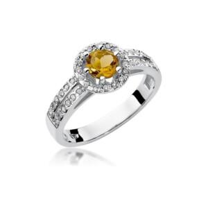 Diamonds Pierścionki z diamentami W87C050B