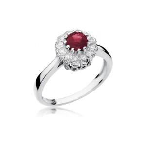Diamonds Pierścionki z diamentami W284R060B