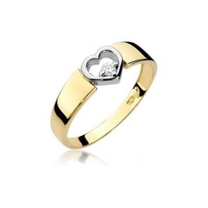 Diamonds Pierścionki z diamentami W276B004Z