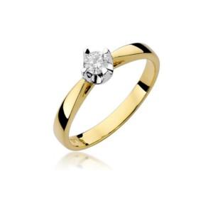 Diamonds Pierścionki z diamentami W293B020Z
