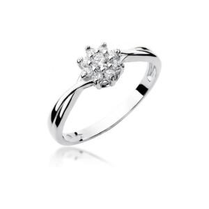 Diamonds Pierścionki z diamentami W72B022B