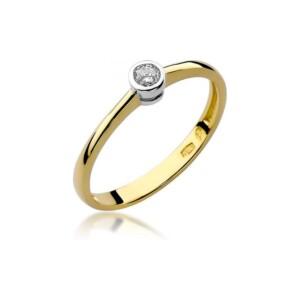 Diamonds Pierścionki z diamentami W224B010Z