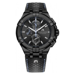 Maurice Lacroix Aikon Gent Quartz Steel Black PVD AI1018-PVB01-337-1 - zegarek męski