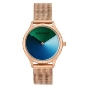 Anne Klein Colorful Dial AK3776MTRG - zegarek damski