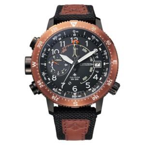 Citizen Promaster Eco-Drive Sky Altichron Diver BN4049-11E - zegarek męski