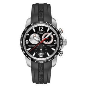 Certina DS Podium Chronograph GMT C001.639.27.057.00 - zegarek męski