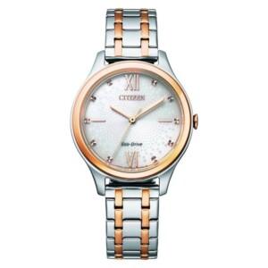 Citizen Elegance EM0506-77A - zegarek damski