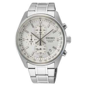 Seiko Chronograph Quartz  SSB375P1 - zegarek męski