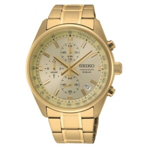 Seiko Chronograph Quartz  SSB382P1 - zegarek męski