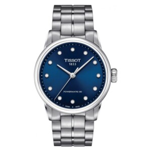 Tissot LUXURY POWERMATIC 80 LADY DIAMONDS T086.207.11.046.00 - zegarek damski