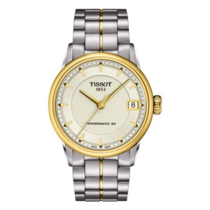 Tissot LUXURY POWERMATIC 80 LADY T086.207.22.261.00 - zegarek damski