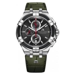 Maurice Lacroix Aikon Gent CHRONOGRAPH QUARTZ STEEL AI1018-PVB21-330-1 - zegarek męski