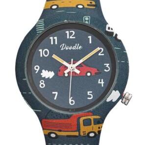 Doodle Kids 4 Wheel DO32001 - zegarek dla chłopca