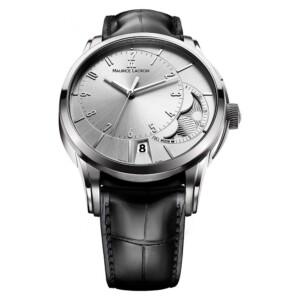Maurice Lacroix PONTOS GENT DECENTRIQUE MOONPHASE AUTOMATIC STEEL PT6318-SS001-130-1 - zegarek męski