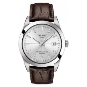 Tissot TISSOT GENTLEMAN POWERMATIC 80 SILICIUM T127.407.16.031.01 - zegarek męski