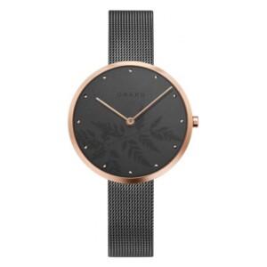Obaku HASSEL NATUR - GRANITE  V219LXVKMJ - zegarek damski