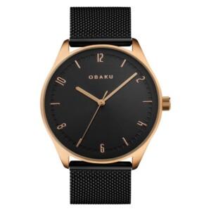 Obaku AGER - NIGHT V235GXVBMB - zegarek męski