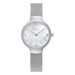Obaku VIKKE - STEEL V241LXCWMC - zegarek damski