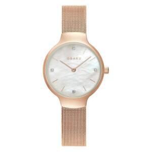 Obaku VIKKE - ROSE V241LXVWMV - zegarek damski