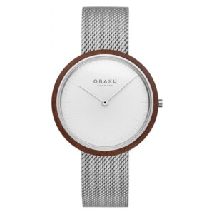 Obaku TRAE - STEEL V245GXCIMC - zegarek męski