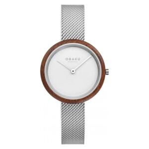 Obaku RAE LILLE - STEEL V245LXCIMC - zegarek damski