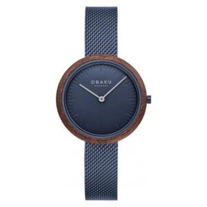 Obaku TRAE LILLE - MARINE V245LXLLML - zegarek damski