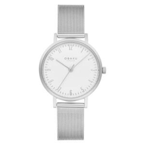 Obaku BRINK LILLE-STEEL V248LXCIMC - zegarek damski